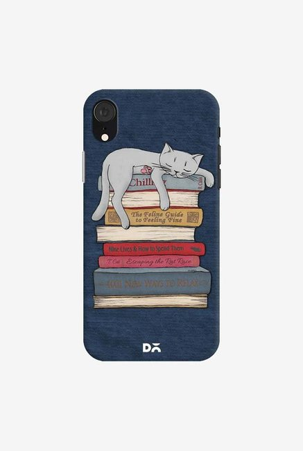 DailyObjects How to Chill Like A Cat Case Cover For iPhone XR