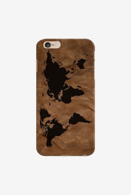 DailyObjects Wrinkled World Map Case For iPhone 6 Plus
