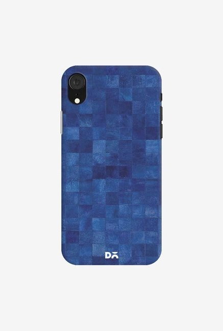 DailyObjects Inked Blue Case Cover For iPhone XR