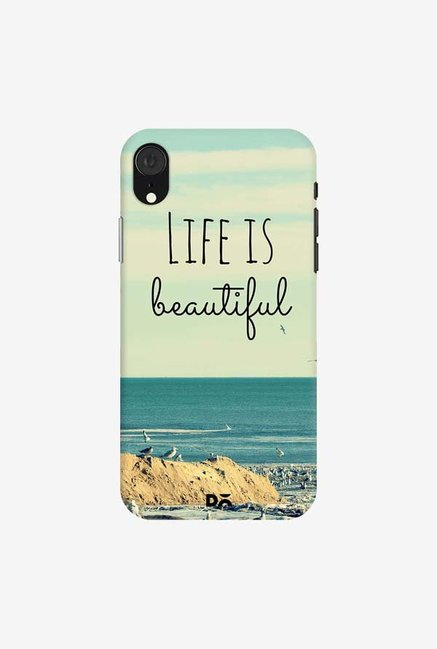 DailyObjects Life Is Beautiful Case Cover For iPhone XR