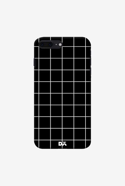 DailyObjects Grid Black Case Cover For iPhone 8 Plus