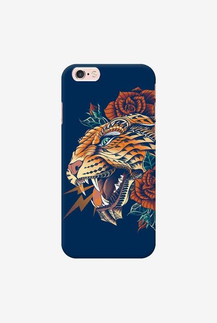 DailyObjects Ornate Leopard Blue Case For iPhone 6s