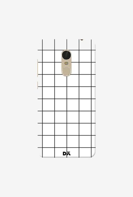 DailyObjects Grid White Case Cover For Xiaomi Redmi Note 5