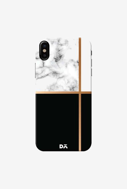 DailyObjects Marble III 63 Case Cover For iPhone X
