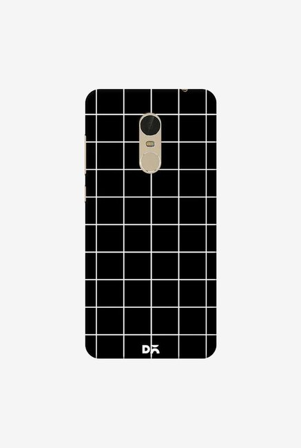 DailyObjects Grid Black Case Cover For Xiaomi Redmi Note 5