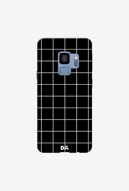 DailyObjects Grid Black Case Cover For Samsung Galaxy S9