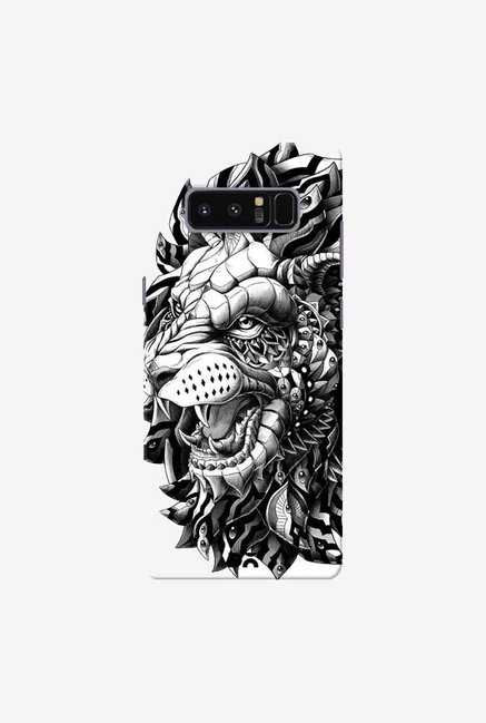 DailyObjects Ornate Lion Case Cover For Samsung Galaxy Note 8