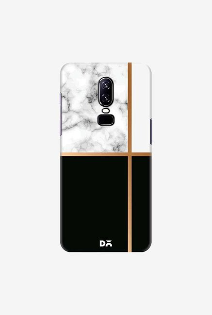 DailyObjects Marble III 63 Case Cover For OnePlus 6