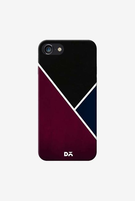DailyObjects Red And Royal Case Cover For iPhone 7