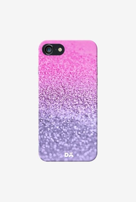 DailyObjects Lavender Pink Glitter Case Cover For iPhone 8
