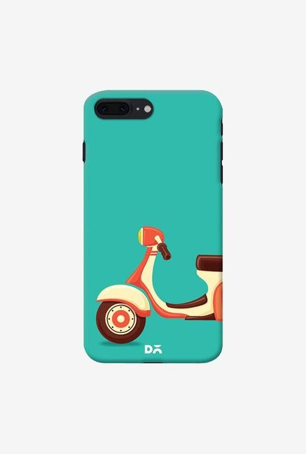 DailyObjects Teal Scooter Case For iPhone 7 Plus