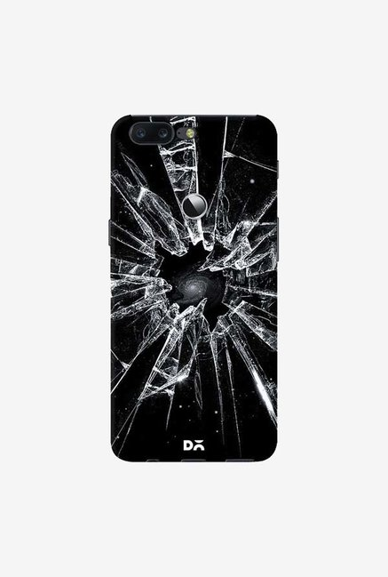 DailyObjects Broken Glass Case Cover For OnePlus 5T