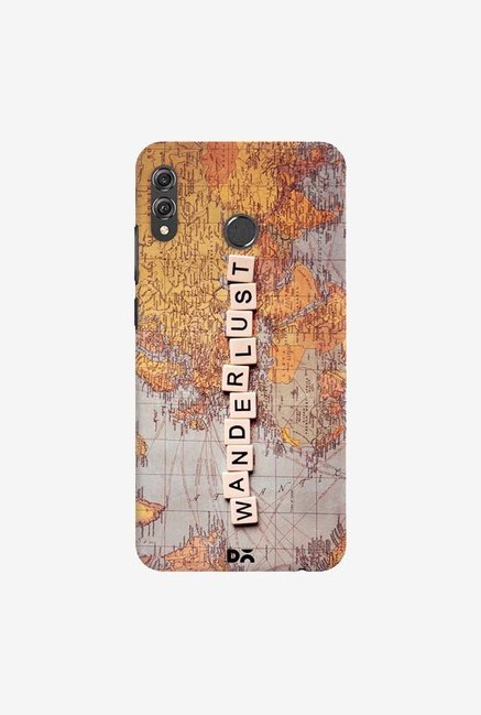 DailyObjects Wanderlust Map Case Cover For Huawei Honor 8X