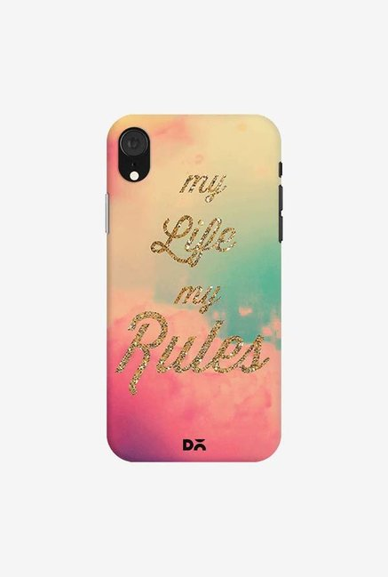 DailyObjects My Life My Rules Case Cover For iPhone XR