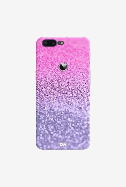 DailyObjects Lavender Pink Glitter Case Cover For OnePlus 5T