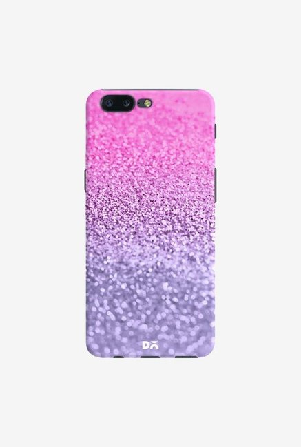 DailyObjects Lavender Pink Glitter Case Cover For OnePlus 5