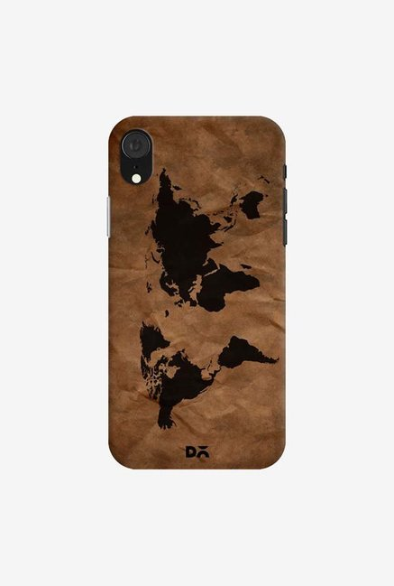 DailyObjects Wrinkled World Map Case Cover For iPhone XR
