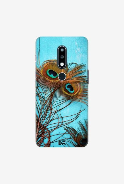 DailyObjects 3 Peacock Feathers Case Cover For Nokia 6.1 Plus