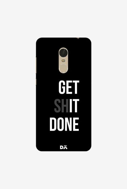 DailyObjects Get Shit Done Case Cover For Xiaomi Redmi Note 5