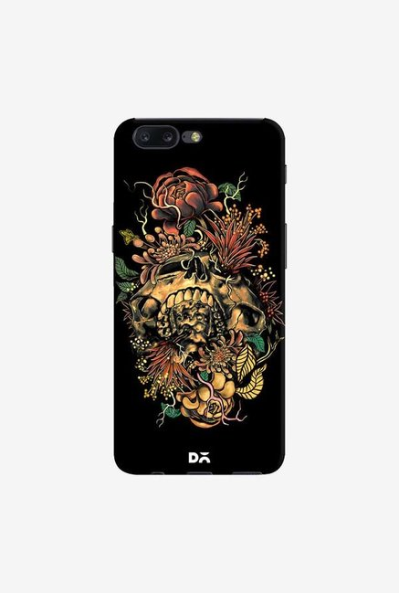DailyObjects Flora Skull 2 Case Cover For OnePlus 5