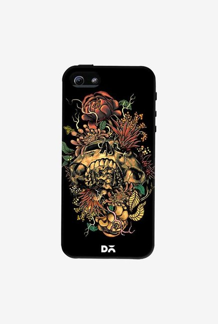 DailyObjects Flora Skull 2 Case Cover For iPhone 5/5S
