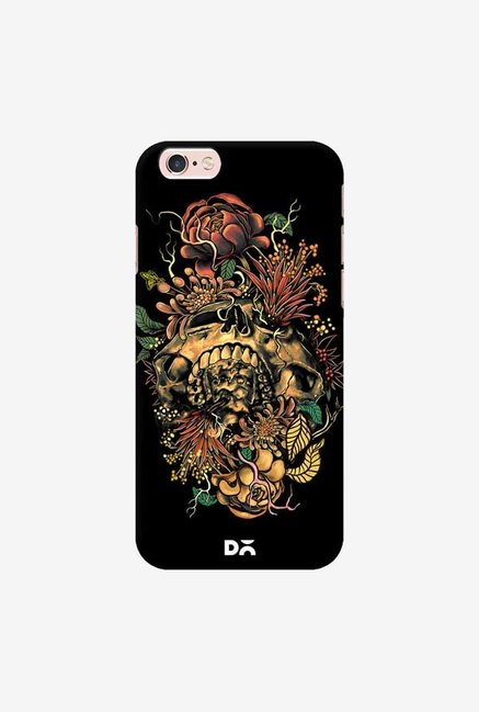 DailyObjects Flora Skull 2 Case Cover For iPhone 6S