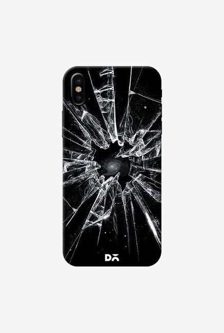 DailyObjects Broken Glass Case Cover For iPhone X