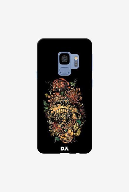 DailyObjects Flora Skull 2 Case Cover For Samsung Galaxy S9