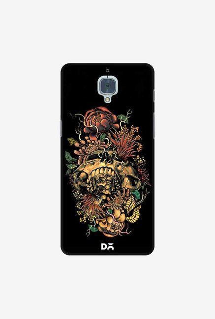 DailyObjects Flora Skull 2 Case Cover For OnePlus 3T