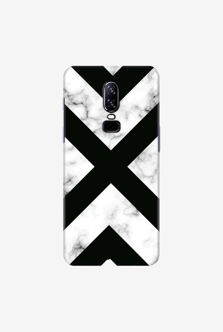 DailyObjects Marble III 66 Case Cover For OnePlus 6