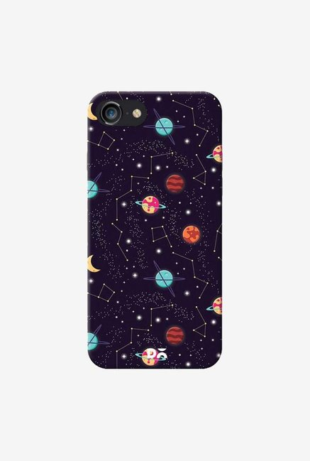 DailyObjects Universe Galaxy Pattern 4 Case Cover For iPhone 8