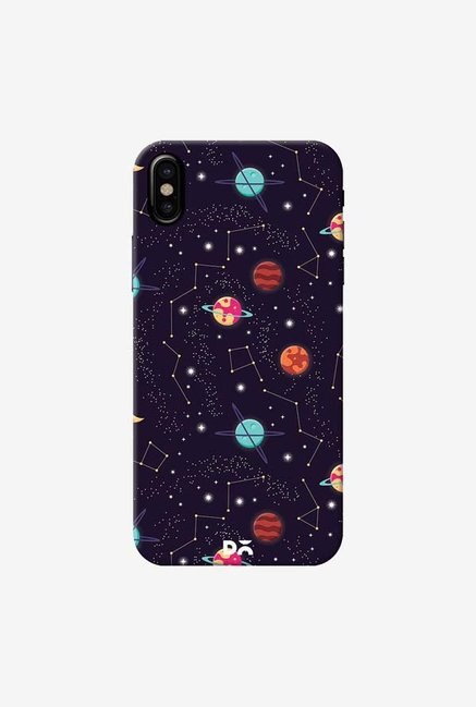 DailyObjects Universe Galaxy Pattern 4 Case Cover For iPhone X