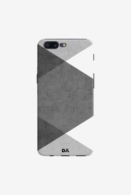 DailyObjects Black and White Triangles Case Cover For OnePlus 5