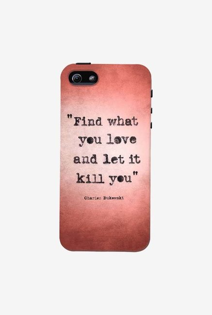 DailyObjects Bukowski Case For iPhone 5/5S