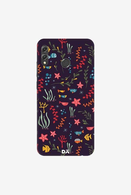 DailyObjects Aqua 19 Case Cover For Huawei Honor 8X