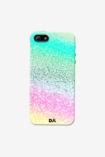 DailyObjects Unicorn Rainbow Glitter Case Cover For iPhone 5/5S