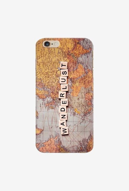 DailyObjects Wanderlust Map Case For iPhone 6 Plus