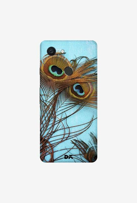 DailyObjects 3 Peacock Feathers Case Cover For Google Pixel 3