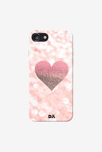 DailyObjects Champagne Heart Rose Case Cover For iPhone 7