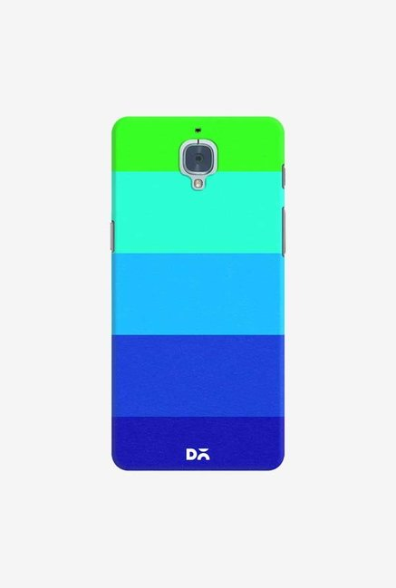 DailyObjects Mindscape Blue Pattern Case Cover For OnePlus 3T