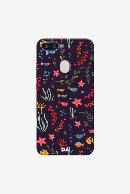 DailyObjects Aqua 19 Case Cover For Oppo F9