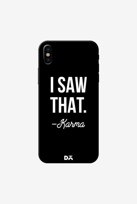 DailyObjects Karma Case Cover For iPhone X