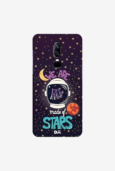 DailyObjects Made Of Stars Space Case Cover For OnePlus 6