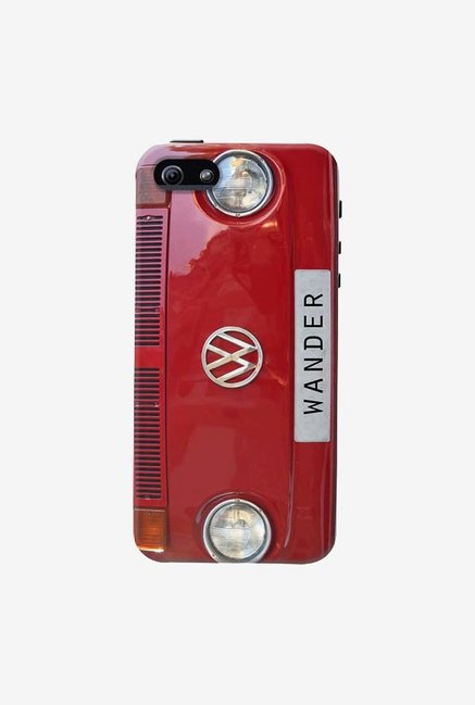 DailyObjects Wander Red Case For iPhone 5/5S