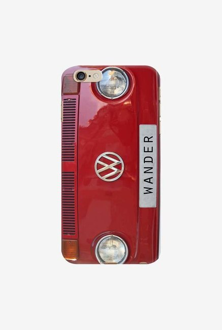 DailyObjects Wander Red Case For iPhone 6 Plus