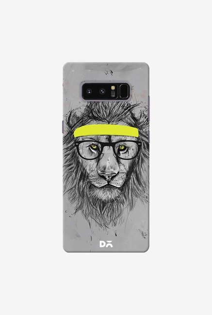 DailyObjects Hipster Lion Case Cover For Samsung Galaxy Note 8
