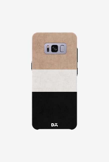 DailyObjects Natural Cream and Black Case For Samsung Galaxy S8