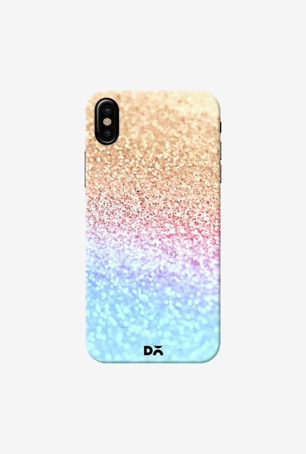 DailyObjects Moonshine  Gold Glitter Case Cover For iPhone X