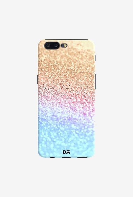 DailyObjects Moonshine  Gold Glitter Case Cover For OnePlus 5