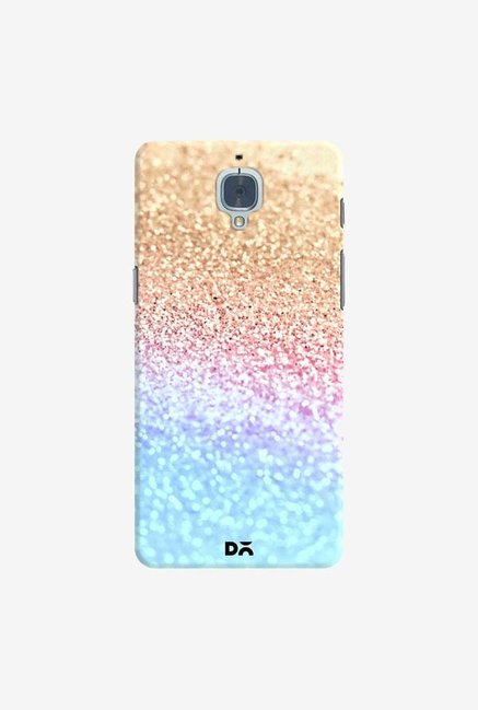 DailyObjects Moonshine  Gold Glitter Case Cover For OnePlus 3T